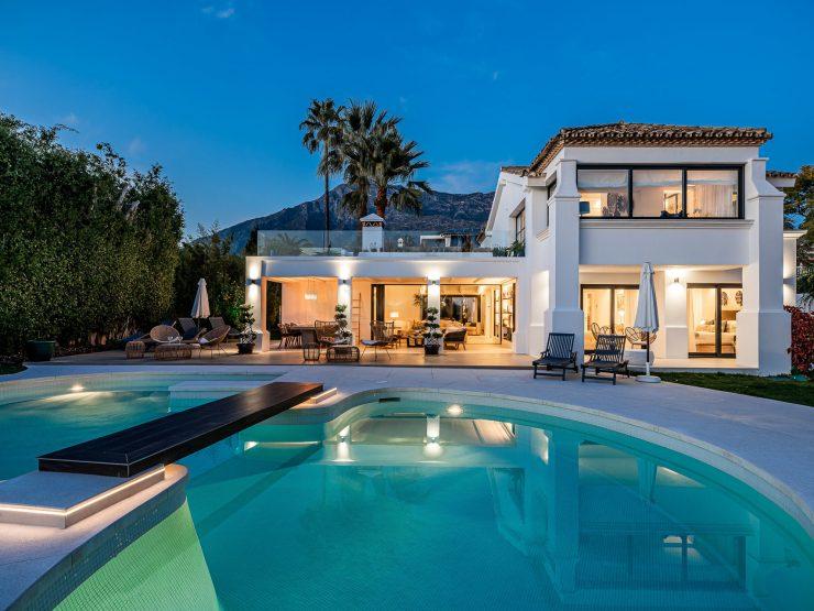 Modern Ibizan style villa in Nagüeles – Golden Mile