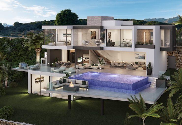 Magnificent luxury villa with sea views