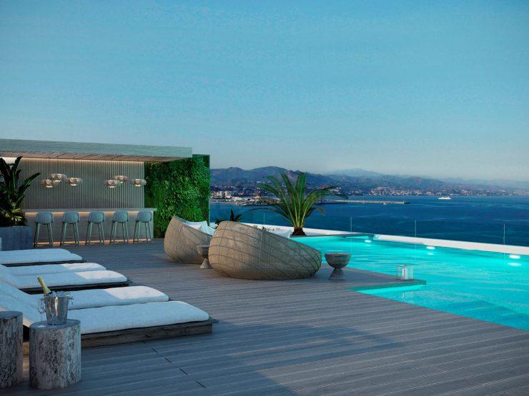 Sierra Blanca Tower – Malaga Luxuswohnungen am Strand mit Meerblick