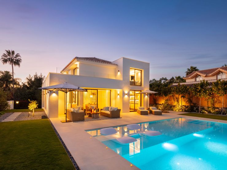 An opulent villa situated in the heart of the Golf Valley