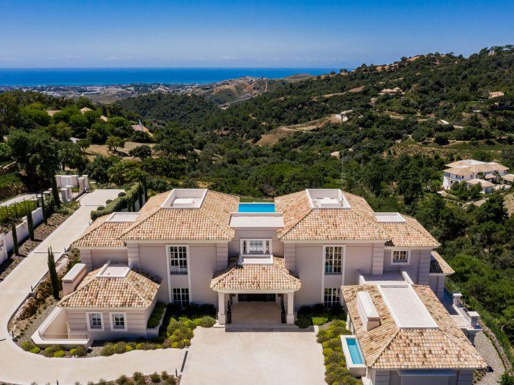 Spectacular villa with panoramic sea views in La Zagaleta Golf & Country Club