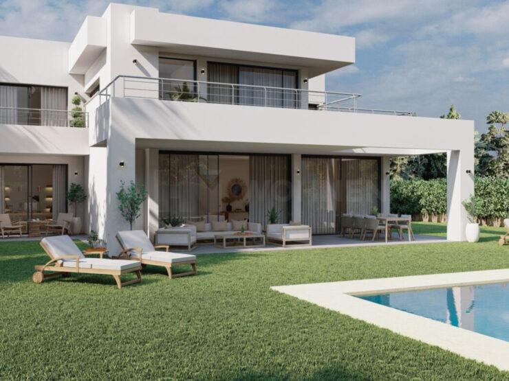 Modern villa just 800 m from the beach