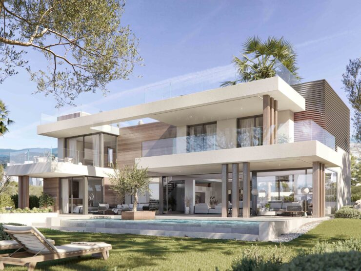 Dream villas, a few steps from the sea