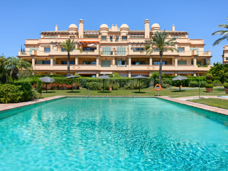 Very nice apartment on the ground floor in Los Flamingos