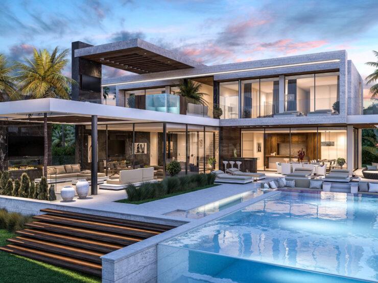 Contemporary dream villa in Los Flamingos – Marbella