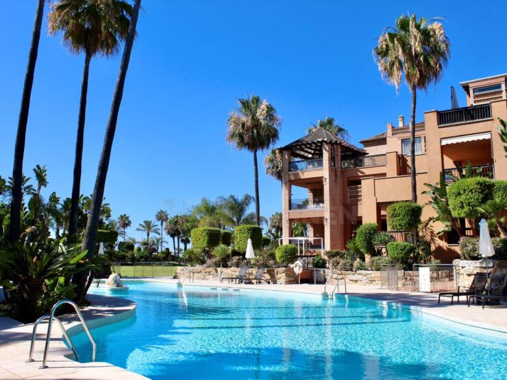 Apartment in beachfront