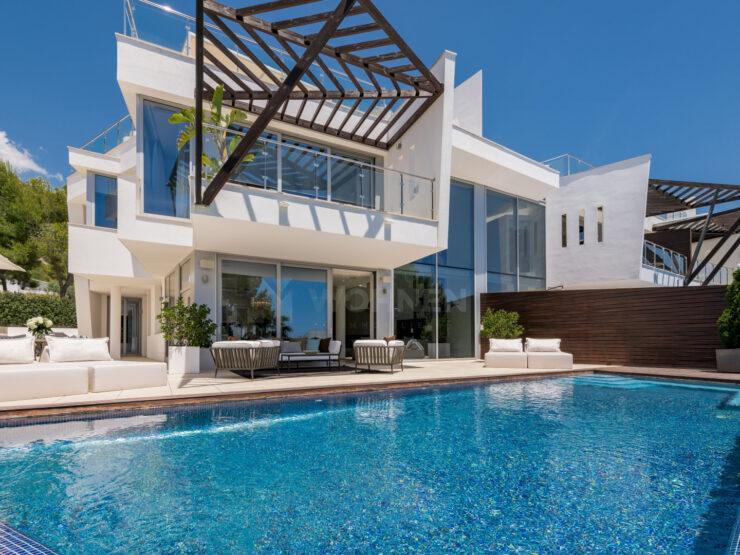 Design villa in Sierra Blanca on Marbella's Golden Mile