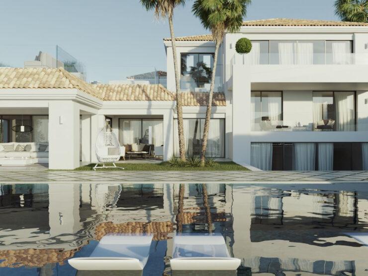 Designer Villa with views across the Los Naranjos golf – Marbella