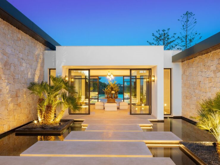 Andalusian Mediterranean villa directly on the golf course – Marbella