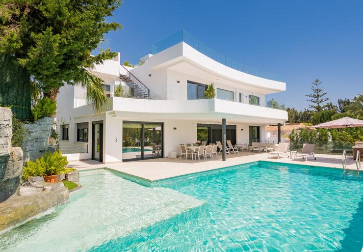 Spectacular brand-new villa in Nueva Andalucía