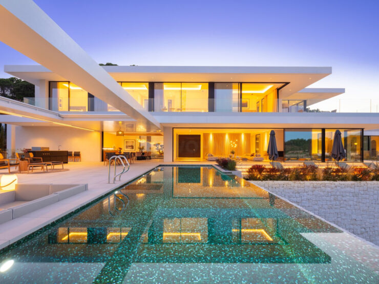 Sensational brand new villa in El Madroñal