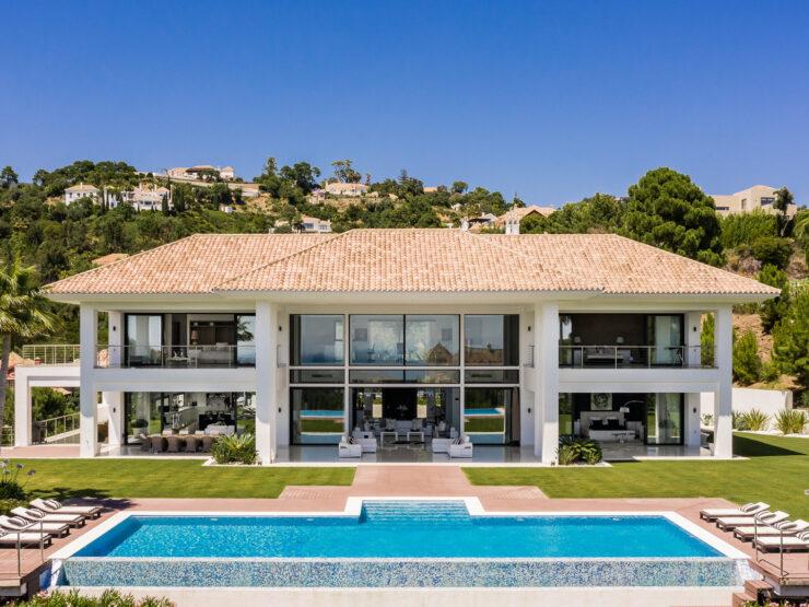 New build villa in the exclusive urbanization La Zagaleta