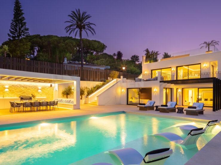 Luxury villa in the heart of Nueva Andalucia Marbella